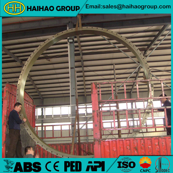 JIS B2220 30K SS400 Rolled Forged Ring Plain Flange