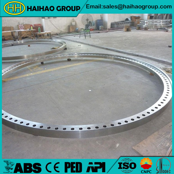 ANSI/ASME B16.5 Stainless Steel Rolled Forged Ring Flange