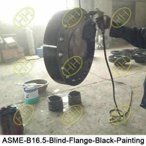 ASME-B16.5-Blind-Flange-Black-Painting