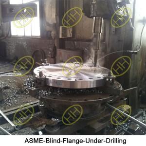 ASME-Blind-Flange-Under-Drilling