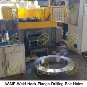 ASME-Weld-Neck-Flange-Drilling-Bolt-Holes