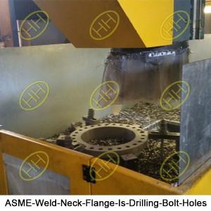 ASME-Weld-Neck-Flange-Is-Drilling-Bolt-Holes