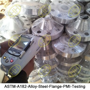 ASTM-A182-Alloy-Steel-Flange-PMI-Testing