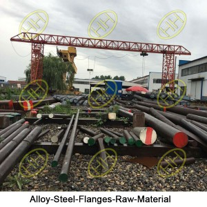 Alloy-Steel-Flanges-Raw-Material