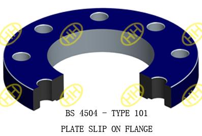 BS-4504-TYPE-101-PLATE-SLIP-ON-FLANGE