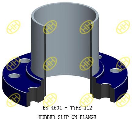 BS-4504-TYPE-112-BOSSED-SLIP-ON-FLANGE