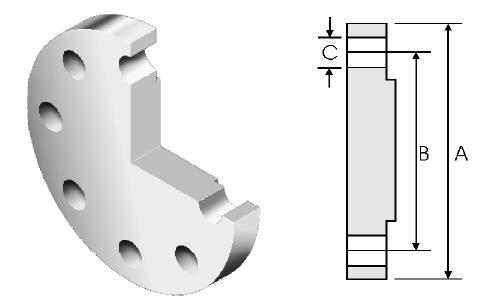 BS-4504-standard-flange-drilling-dimensions