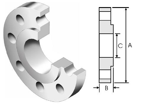 BS4504-standard-plate-flange-code101