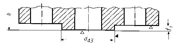 DIN2513-Flanges-male-joint-faces-PN10-PN100-Design-Dimension