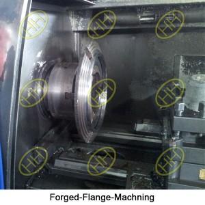 Forged-Flange-Machning