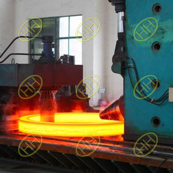 Forging-Rolling-Flange-Production