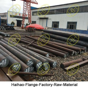 Haihao-Flange-Factory-Raw-Material