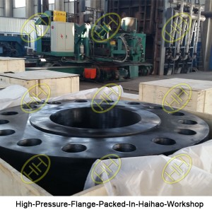 High-Pressure-Flange-Packed-In-Haihao-Workshop