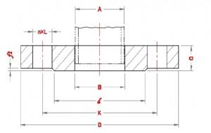 Plate-Slip-On-Flanges-Dimensions-according-to-Standard-EN-1092-1-PN63