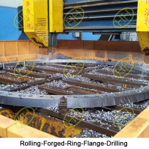 Rolling-Forged-Ring-Flange-Drilling