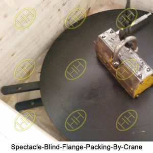 Spectacle-Blind-Flange-Packing-By-Crane