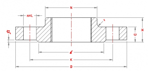 Threaded-Flanges-Dimensions-according-to-Standard-EN-1092-1-PN25