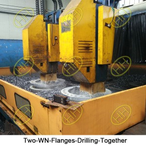 Two-WN-Flanges-Drilling-Together