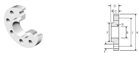 ansi-asme-b16-5-lap-joint-flange-class2500-dimensions