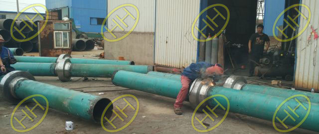 Hebei-Haihao-Group-Anchor-Flanges-Installed-In-Site