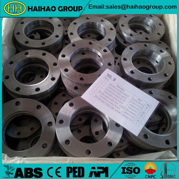 EN1092 ASTM A182 F304 Stainless Steel RF Plate/Flat Flange