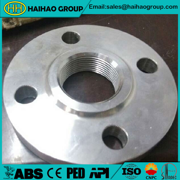 A182 F304 ASME CLASS 300 RF Threaded Flange