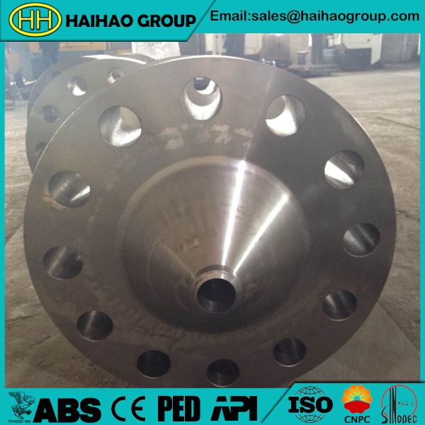 ASME B16.47 Carbon Steel RTJ  Weld Neck Flange