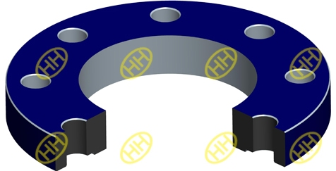 slip-on-plate-flange-drawing