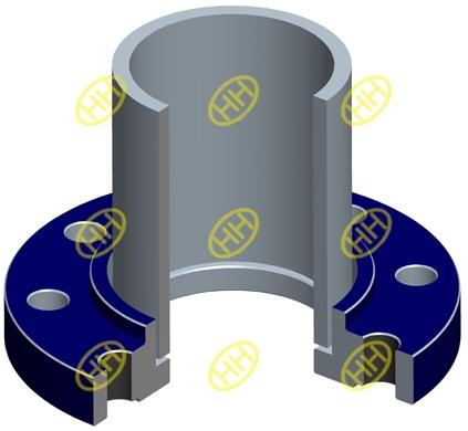 socket-weld-flange-pipe-connection-design